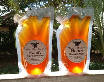 Raw Unfiltered Hawaiian Honey