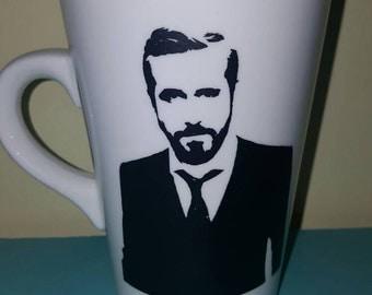 Ryan Gosling coffee cup