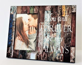 forever always weddinganniversary personalized frames engagement frames