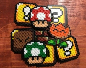 Super Mario World Perler