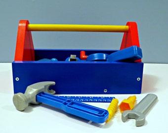 Children's Wooden Toolbox