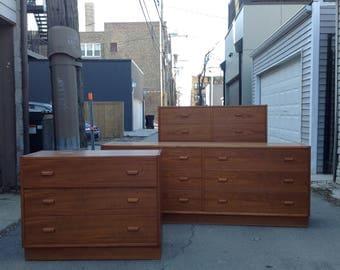 Art Furn MCM Dresser Set