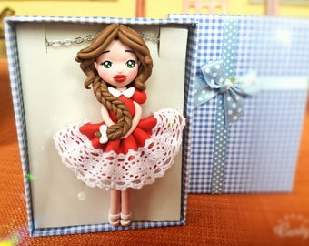 Necklace doll