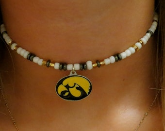 College Choker (University of Iowa)