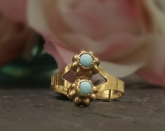 Antique Turquoise Ring