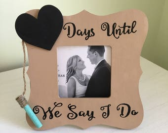 Wedding Countdown Frame