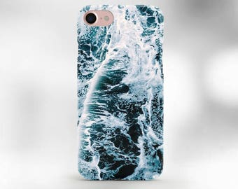 iPhone 7 case Ocean waves case for iphone 6 blue wave Ocean water iphone case embre blue ocean iphone case sea beach iphone case Iphone case