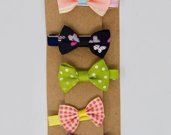 Bow Hair Clip Sets for Little Ones