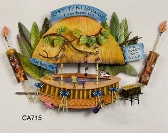 Lost Tiki Lounge Metal Wall Art - CA715