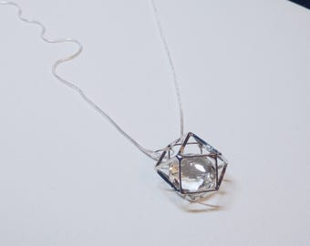Ice rock necklace