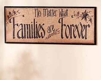 No matter what families are forever