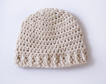 Super Soft Preemie Hat | Ivory