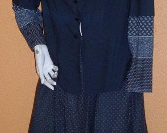Peasant woman 1900 costume, ref: B8, size 38/40.