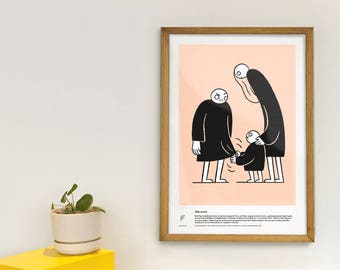 Moral hazard - educational poster - economic Concepts