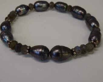 Bracelet Labradorite beads
