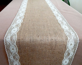 Burlap Table Runner, Burlap Wedding Runners, Farmhouse Runner, Plain Burlap Table Runner, Rustic Table Runner, Custom Length Available