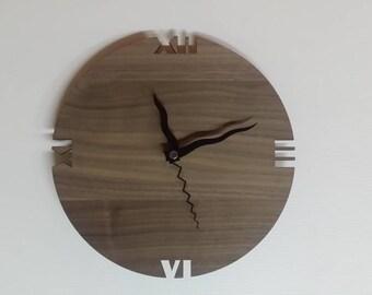 Wooden clock - Wooden wall clock