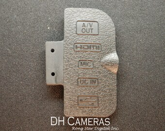 Nikon D300S USB rubber Cover For SLR Camera Replacement Repair Part