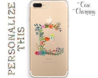 Initial Phone Case Monogram iPhone 7 Plus Case iPhone 7 Case iPhone 6 Plus Case iPhone 6s Case iPhone 6 Case iPhone 6s Plus Case iPhone SE