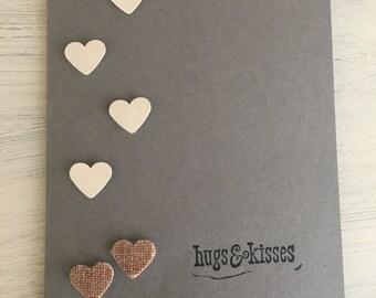Valentines cards, handmade, love