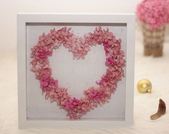 "decor 3D picture, 3D picture frame ""Sweetheart"""