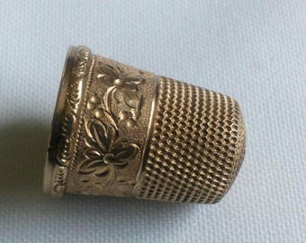 Vintage GOLD Filled THIMBLE