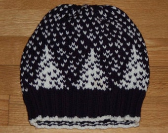 Snowfall Knit Hat