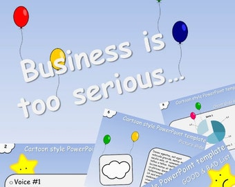 Powerpoint - Business is too serious... - Digital download
