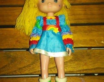 """Vintage 1983 8""""Rainbow Brite Doll"""