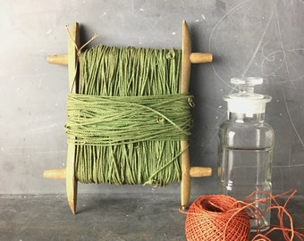 string on a spindle