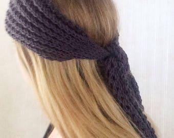Knit head wrap, headband - women, girls