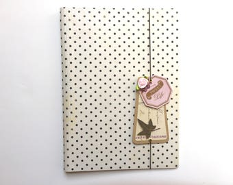 Midori Inspired Traveler's Notebook Cover, Planner Cover, Notebook, Journal, Handmade
