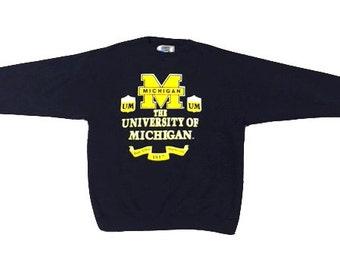 Vintage University of Michigan Crewneck