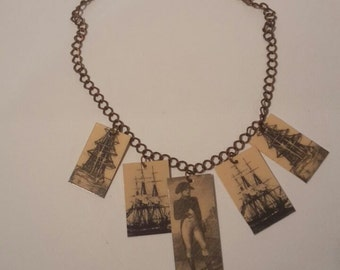 Choker necklace, Napoleon and the tall ships