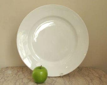 large antique French porcelain platter