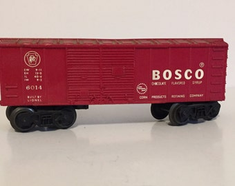 Red lionel Bosco car 6014