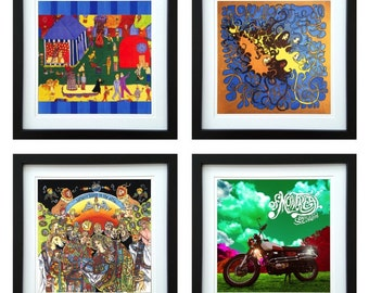 Of Montreal - Framed Album Art - Set of 4 Images