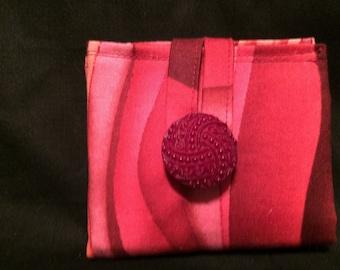 Groovy Pink Tea Wallet