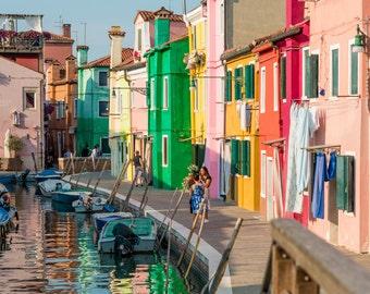 Colourful Burano, Italy