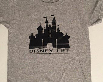 Disney world castle t-shirt