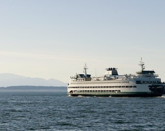 Seattle Ferry Boat Photo