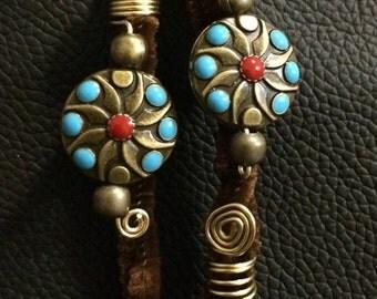 Adorable Bohemian flavor loc jewelry set