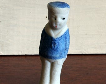 Vintage Little Sailor Boy Penny Doll