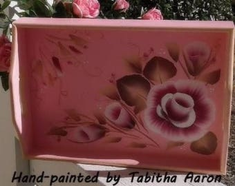 Hand Painted Decorative Tray