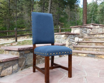Indigo Blue Dining Chair