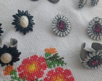 Marvelous earring and ring set