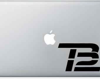 Tom Brady 12 New England Patriots Decal for Windows, Cars, Laptops, Macbook, Yeti, Coolers, Mugs etc