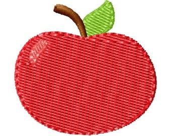 Apple Embroidery Design, Apple, Machine Embroidery, Embroidery Design, Apple Embroidery, Back To School, Embroidery, Apple Design