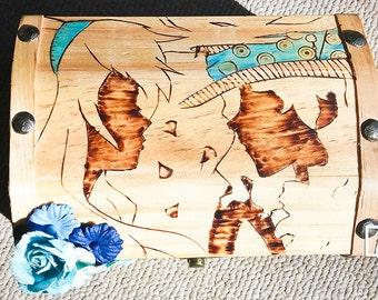 Alice in Wonderland Burned Box