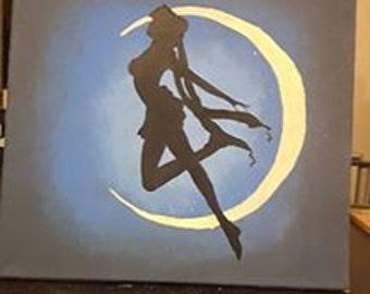 Anime Canvas Custom Painting